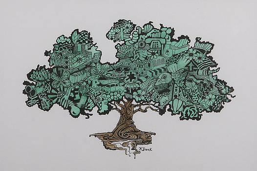 Tree of Bounty by Wendell Fiock