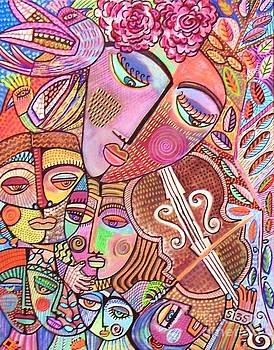 Tree Of Life Gypsy Violin Serenade' by Sandra Silberzweig