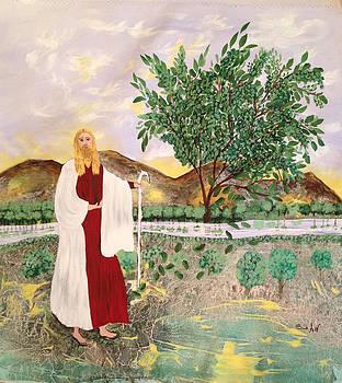 Tree of life- Jesus by Sima Amid Wewetzer