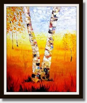 Tree Splits by Scott Hoke