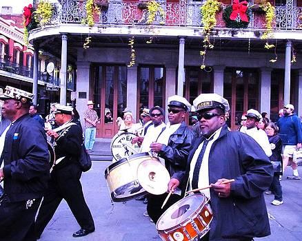 Treme Brass Band Parade by Debora PeaceSwirl DAngelo