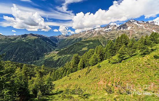 Trentino - alpine landscape in Pejo by Antonio Scarpi