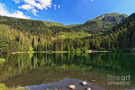 Trentino - Caprioli lake by Antonio Scarpi