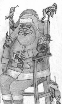 Trials Of Being Santa by Gordon Wendling