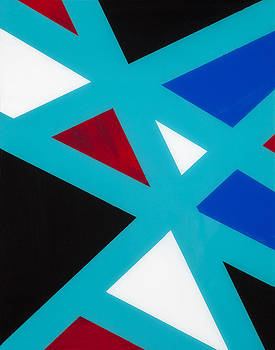 Triangle I by Carolyn Repka