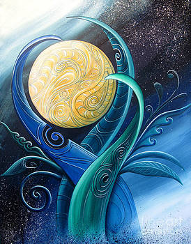Tribal Moon by Reina Cottier