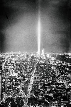Tribute in Light - New York City by Vivienne Gucwa