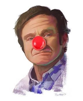 Tribute to Robin Williams by Brett Hardin