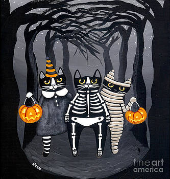 Trick or Treat Group by Ryan Conners