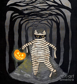 Trick or Treat Mummy by Ryan Conners