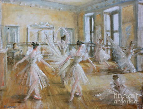 Yvonne Ayoub - Tring Park the Ballet Room