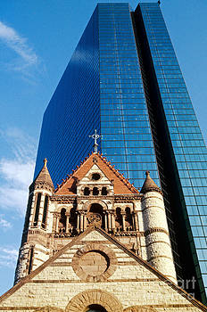 Spencer Grant - Trinity Church and Hancock Tower