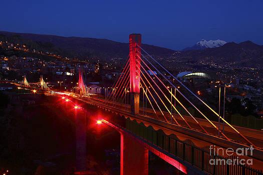 James Brunker - Triple Bridges at Night La Paz