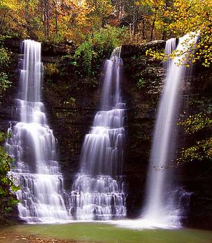 Triple Falls by Karen M Blankenship