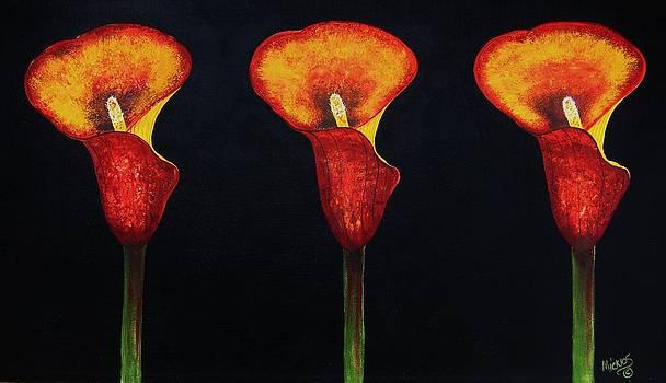 Triplicate by Cindy Micklos