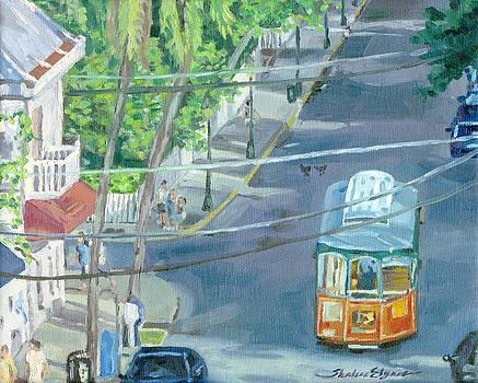 Trolley Tour of Key West Florida by Shalece Elynne
