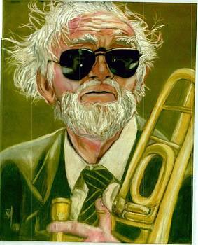 Trombonist by Joshua Holmes