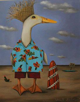 Leah Saulnier The Painting Maniac - Tropical Bird?