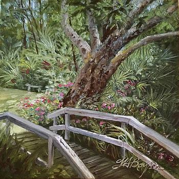 Tropical Garden by Maryann Boysen