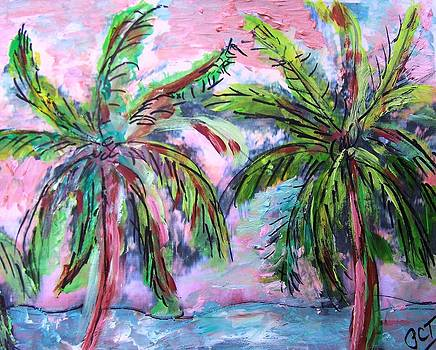 Patricia Taylor - Tropical Palm Sketch