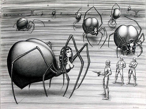 Trouble On Planet Arachnia by Arthur Robins