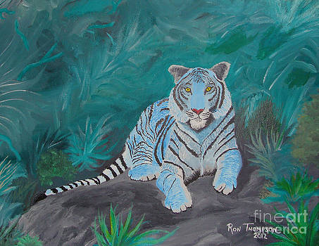 True Blue Tiger by Ron Thompson