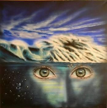Tsunami Eyes by Alexander Bukhanov