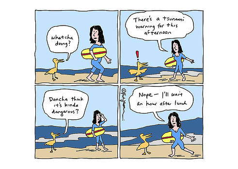 Tsunami by Rick and Kathy Jamison