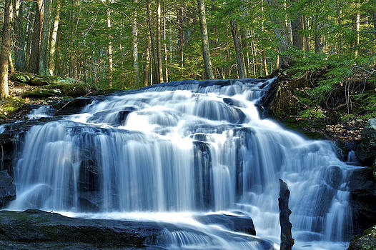 Tucker Brook Falls by Mike Berry