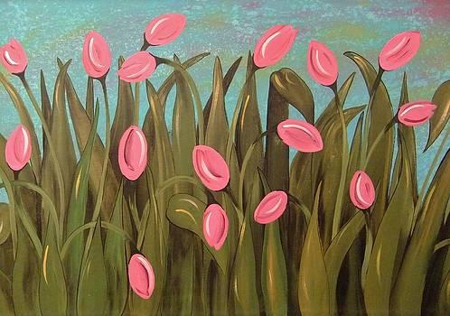 Tulip Garden by Cindy Micklos