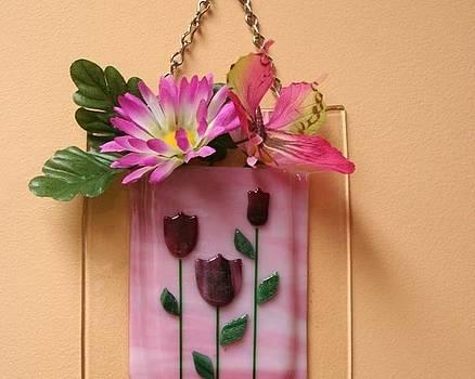 Tulip Wall Pocket  by Jill Groves