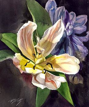 Alfred Ng - tulip with hyacinthus