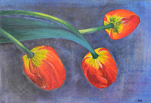 Tulips by Adel Nemeth