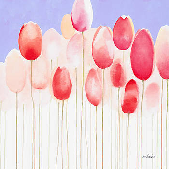 Tulips are People XVIII by Jerome Lawrence