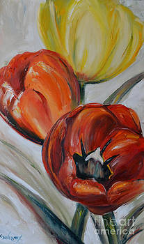 Tulips by Cher Devereaux