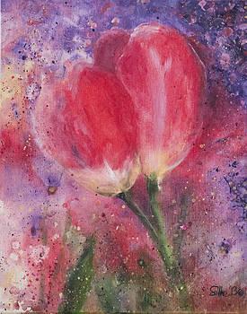 Tulips in dance by Silke Tyler