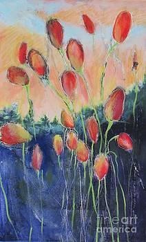 Tulips in Dawn Light by Beth Fischer