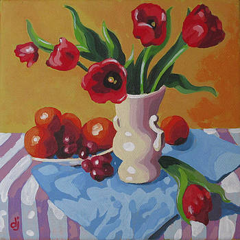 Tulips Today by Dorothy Jenson