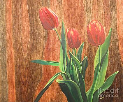 Tulips by Wendy Russell