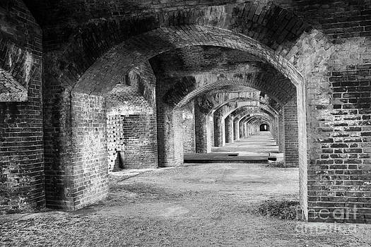 Tunnels BW by Alison Tomich