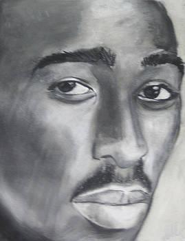 Tupac by Aaron Balderas