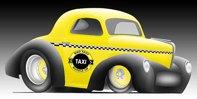Turbo Taxi by Lyle Brown