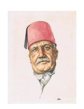 Turk Character study by Bob  George