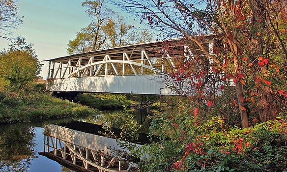 Turner's Covered Bridge by Suzanne Stout
