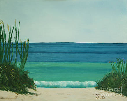 Turquoise Beach by Tina Stoffel