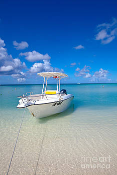 Turquoise Bliss in Palm Beach Aruba by Christy Woodrow