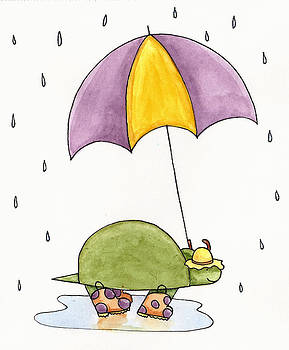 Christy Beckwith - Turtle in the Rain