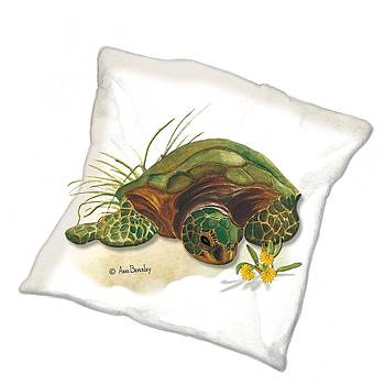 Turtle Pillow by Anne Beverley-Stamps