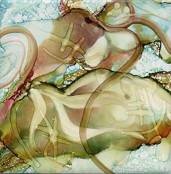 Turtles At Play by Carolyn Weir