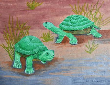 Turtles by Gordon Wendling